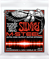 M-Steel Slinky Electric Strings